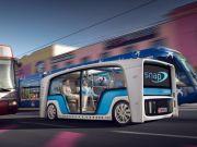 Rinspeed представила концепт беспилотного электробуса