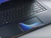 Asus представила ноутбук с сенсорным экраном вместо тачпада (видео)