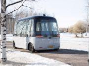 У Гельсінкі запустили безпілотні автобуси