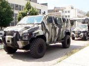 Український бронеавтомобіль «Спартан» показав на трасі, на що він здатний (відео)