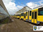 Львов получил 30 трамваев из Берлина