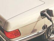 Классический Mercedes-Benz SL переделали в электрокар (фото, видео)