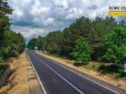 На Волыни восстановили дорогу к Шацким озерам по европейским стандартам (фото)