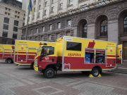 Киеву дали спецавтомобили для устранения аварий на теплосетях стоимостью $735 тыс. (відео)