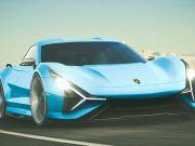 Lamborghini анонсировала 4-дверный электромобиль