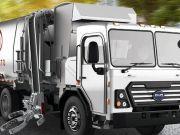 Китайская компания представила электрический мусоровоз
