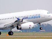 Житомирский аэропорт впервые принял среднемагистральный Airbus 320
