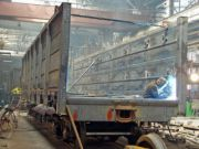 Подсчитано, сколько вагонов произвел Крюковский вагонзавод с начала года