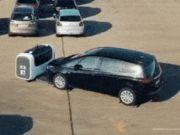 В аэропорту Франции парковать машины будут беспилотные роботы
