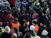 Делегация митингующих отправилась в АП на переговоры