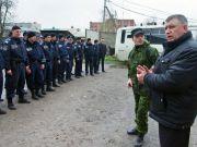 Російський підполковник вже підпорядкував міліцію у Горлівці невідомому чоловікові в штатському (ВІДЕО)