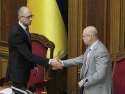 Турчинов: Яценюк направив до Ради заяву про відставку з поста прем'єр-міністра