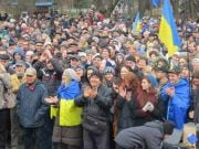 """""""Казаки"""" не помогли: татары отстояли Симферополь и начали создавать самооборону, чтобы защищать Крым"""