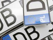 Автомобили на еврономерах - начаты спецмеры полиции