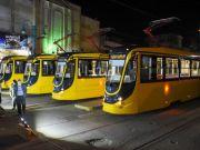 В Египте работают уже 6 новых трамваев, построенных в Украине (фото, видео)
