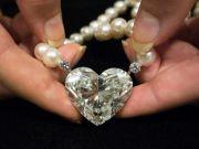 Белый бриллиант ушел с молотка за рекордных 15 миллионов долларов
