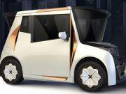 У Лос-Анджелесі показали електричний сіті-кар REDS.