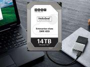 Western Digital представила первый жесткий диск объемом 14 ТБ