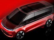Volkswagen показал новый Multivan