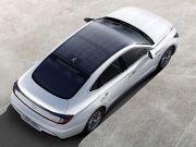 Hyundai представила гибрид на солнечных батареях