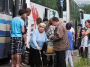 Где и как живут беженцы с Востока Украины (инфографика)