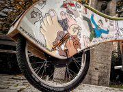 Представлено дерев'яний електровелосипед з автобалансуванням (відео)