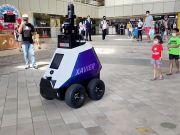Роботи-патрульні почали стежити за порядком у Сінгапурі