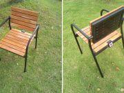 В Sharp созданы садовые кресла с зарядкой для гаджетов