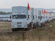 """Россия заявила о готовности направить третий """"гуманитарный конвой"""" на восток Украины"""