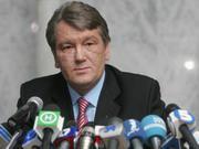 Ющенко:Прекращение обеспечения газом промпредприятий угрожает национальной безопасности