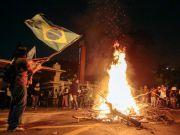 Массовые протесты в Бразилии: активисты устраивают погромы и пытаются захватить мэрию Сан-Паулу