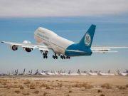 Boeing с самым большим в мире турбовентиляторным двигателем впервые поднялся в воздух
