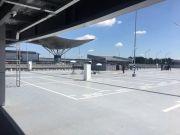 Аэропорт Борисполь временно снизил расценки в новом паркинге терминала D
