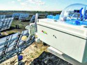 Під Дніпром запрацювала унікальна сонячна електростанція
