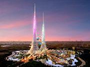 """У Китаї побудують унікальний кілометровий """"екохмарочос майбутнього"""""""