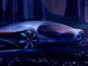 Mercedes представил автономный шоу-кар Vision Avtr - машина-рептилия (видео)