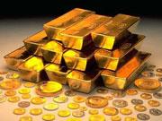 Золото падает витками
