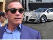 Шварценеггер продав свій Bugatti за $2,5 мільйона