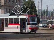 В Запорожье запустили очередной трамвай собственной сборки