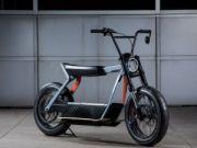 Harley-Davidson показала концепт электроскутера (видео)