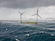 США планируют создать плавучие ветроэлектростанции