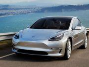 Tesla Model 3 станет первым в мире авто без приборов (фото)