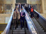 УЗ установит новые эскалаторы в вестибюле вокзала в Киеве за 10 миллионов