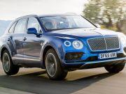У Bentley Bentayga з'явиться новий мотор