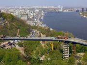 У КМДА відповіли на заяву про крадіжку проекту моста через Володимирський узвіз