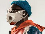 Представлено захисну маску з вентиляторами і вбудованими навушниками (фото)