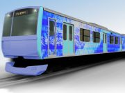 В Японії проектують еко-поїзди, що працюють на водні