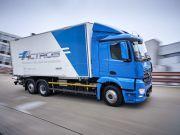 Daimler запустит производство тяжелой электрофуры eActros в 2021 году
