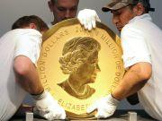 В Берлине грабители похитили стокилограммовую золотую монету