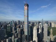 Высочайший жилой небоскреб мира появился в Нью-Йорке (ВИДЕО)